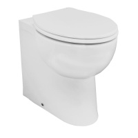 Deluxe Back To Wall Pan - Raised height
