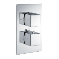 Victoria Shower Collection Square Handles - Two Way Outlets