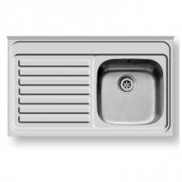 T-Series 600 Deep Stainless Steel Sink