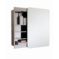 Slide Single Bathroom Cabinet with Mirrored Door