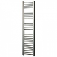 Slimline Chrome Heated Towel Rail 800 x 300