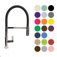 Spirali Designer Sink Mixer - Feature Coloured Hose