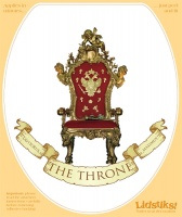 'The Throne' Toilet Lidstik