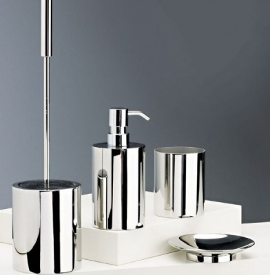 Urban Steel Freestanding Bathroom Accessory Set