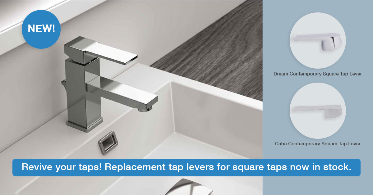 Replacement Square Tap Levers & Handles - Notjusttaps.co.uk